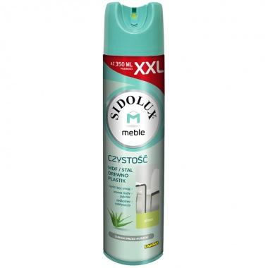 SIDOLUX M Środek przeciw kurzowi aerozol - aloes