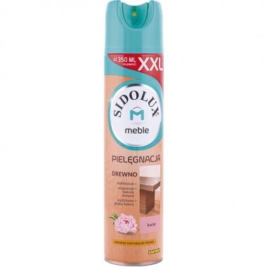 SIDOLUX M Środek do pielęgancji i nabłyszczania mebli aerozol - kwiatowy