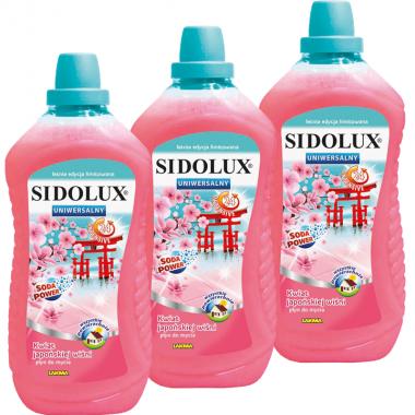 Uniwersalny płyn do mycia - kwiat japońskiej wiśni, multipack