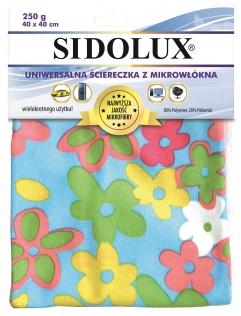 SIDOLUX Szmatka kolorowa z mikrofibry
