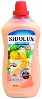 SIDOLUX Uniwersalny płyn do mycia - pomarańczowe mydło marsylskie