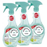 SIDOLUX M Środek do czyszczenia mebli lakierowanych na wysoki połysk, multipack