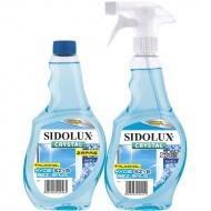 SIDOLUX Crystal Płyn do mycia szyb - arctic plus zapas