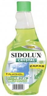 SIDOLUX Crystal Płyn do mycia szyb - lemon zapas