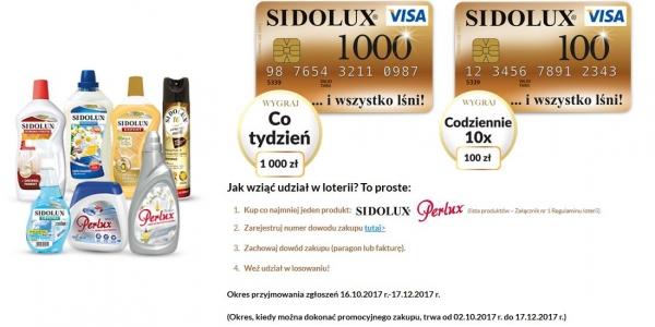 Wielka Loteria Sidolux Sklep Sidolux Aktualne Promocje I