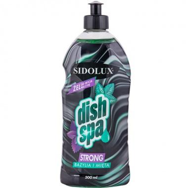 SIDOLUX Dish Spa Strong Płyn do mycia naczyń - bazylia i mięta
