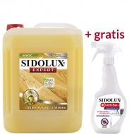SIDOLUX Expert Środek do mycia paneli i drewna + GRATIS Anti-Bac płyn wirusobójczy 500 ml