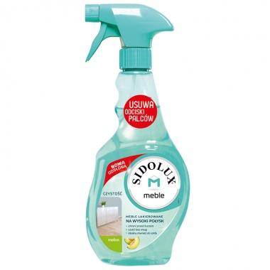 SIDOLUX M Środek do czyszczenia mebli lakierowanych na wysoki połysk