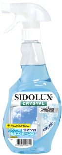 SIDOLUX Crystal Płyn do mycia szyb - artic